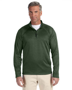 Forest Heather Men's Stretch Tech-Shell™ Compass Quarter-Zip