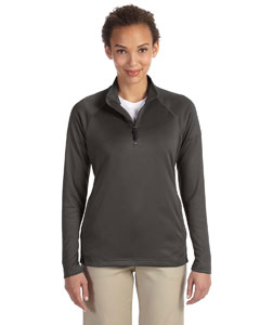 Dk Grey Heather Women's Stretch Tech-Shell™ Compass Quarter-Zip