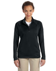Black Women's Stretch Tech-Shell™ Compass Quarter-Zip