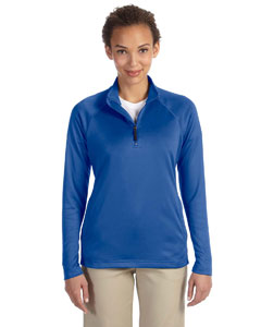 True Royal Women's Stretch Tech-Shell™ Compass Quarter-Zip