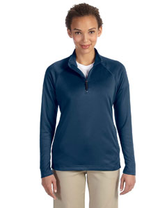 Navy Women's Stretch Tech-Shell™ Compass Quarter-Zip