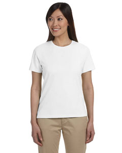 White Women's Stretch Jersey T-Shirt