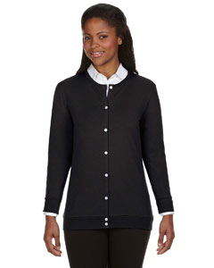 Black Women's Perfect Fit™ Ribbon Cardigan
