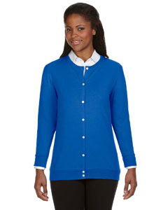 French Blue Women's Perfect Fit™ Ribbon Cardigan