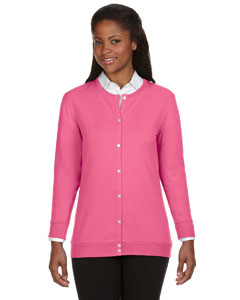 Charity Pink Women's Perfect Fit™ Ribbon Cardigan