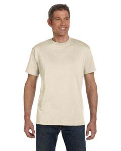 Natural 5.5 oz., 100% Organic Cotton Classic Short-Sleeve T-Shirt
