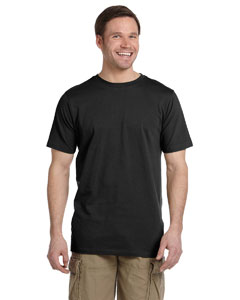 Black 4.4 oz. Ringspun Fashion T-Shirt