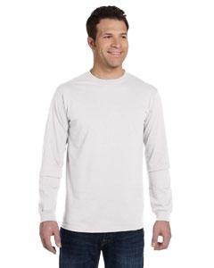 White 5.5 oz., 100% Organic Cotton Classic Long-Sleeve T-Shirt