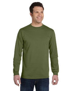 Olive 5.5 oz., 100% Organic Cotton Classic Long-Sleeve T-Shirt