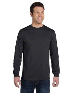 Charcoal 5.5 oz., 100% Organic Cotton Classic Long-Sleeve T-Shirt