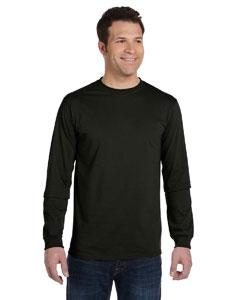 Black 5.5 oz., 100% Organic Cotton Classic Long-Sleeve T-Shirt