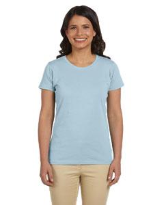 Sky Women's 4.4 oz., 100% Organic Cotton Short-Sleeve T-Shirt