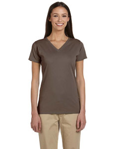 Meteorite Women's 4.4 oz., 100% Organic Cotton Short-Sleeve V-Neck T-Shirt