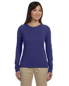 Iris Women's 4.4 oz., 100% Organic Cotton Long-Sleeve T-Shirt