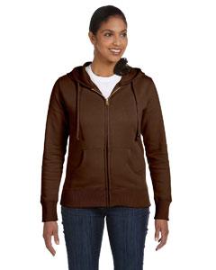 Earth Ladies' 9 oz. Organic/Recycled Full-Zip Hood