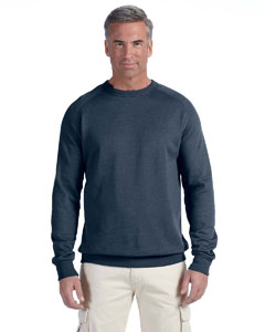 Water 7 oz. Organic/Recycled Heathered Fleece Raglan Crew