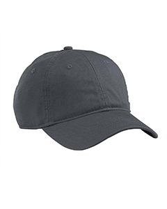 Charcoal Organic Cotton Twill Unstructured Baseball Hat