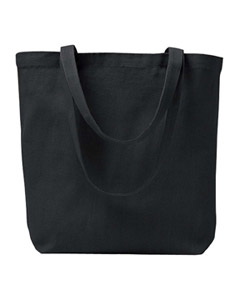 Black 7 oz. Recycled Cotton Everyday Tote