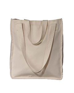 Natural Organic Canvas Market Tote