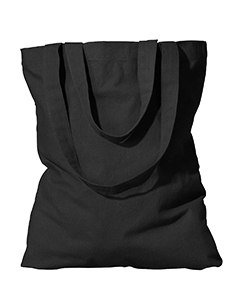 Black Organic Cotton Eco Promo Tote