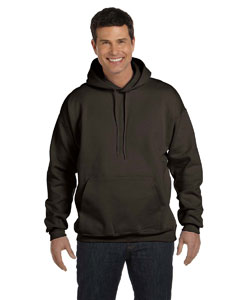 Dark Chocolate 9.7 oz. Ultimate Cotton® 90/10 Pullover Hood