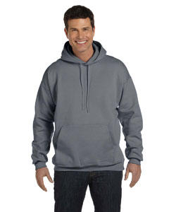 Charcoal Heather 9.7 oz. Ultimate Cotton® 90/10 Pullover Hood