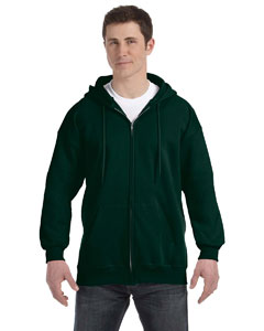 Deep Forest 9.7 oz. Ultimate Cotton® 90/10 Full-Zip Hood