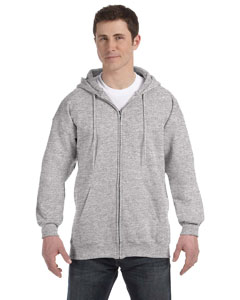 Light Steel 9.7 oz. Ultimate Cotton® 90/10 Full-Zip Hood