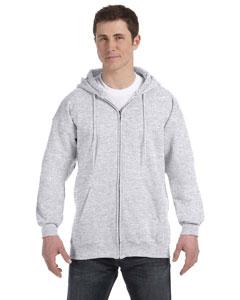 Ash 9.7 oz. Ultimate Cotton® 90/10 Full-Zip Hood