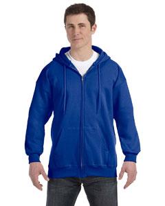 Deep Royal 9.7 oz. Ultimate Cotton® 90/10 Full-Zip Hood