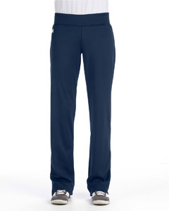 Navy Women's Tech Fleece Mid-Rise Loose Fit Pant