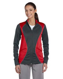 Stealth/true Red Women's Tech Fleece Full-Zip Cadet Jacket