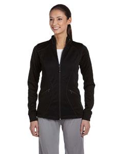 Black Women's Tech Fleece Full-Zip Cadet Jacket