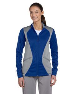 Royal/steel Women's Tech Fleece Full-Zip Cadet Jacket