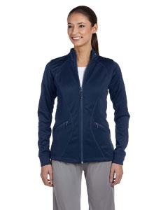 Navy Women's Tech Fleece Full-Zip Cadet Jacket
