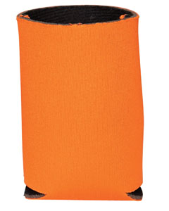Orange Insulated Can Holder