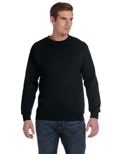 Black DryBlend™ 9.3 oz., 50/50 Fleece Crew