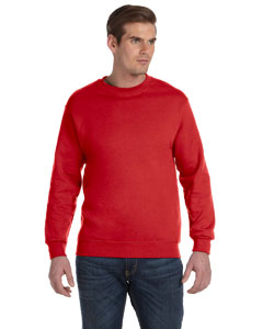 Red DryBlend™ 9.3 oz., 50/50 Fleece Crew