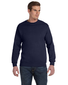 Navy DryBlend™ 9.3 oz., 50/50 Fleece Crew