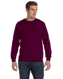Maroon DryBlend™ 9.3 oz., 50/50 Fleece Crew