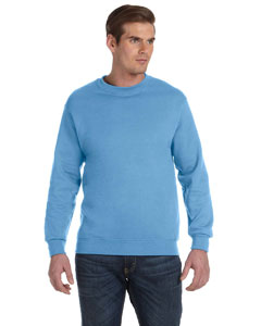 Carolina Blue DryBlend™ 9.3 oz., 50/50 Fleece Crew