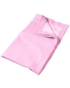 Light Pink DryBlend™ 9.3 oz. Fleece Stadium Blanket