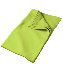 Safety Green DryBlend™ 9.3 oz. Fleece Stadium Blanket