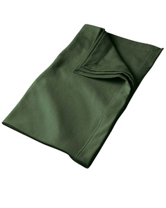 Forest Green DryBlend™ 9.3 oz. Fleece Stadium Blanket