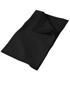 Black DryBlend™ 9.3 oz. Fleece Stadium Blanket