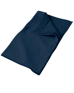 Navy DryBlend™ 9.3 oz. Fleece Stadium Blanket