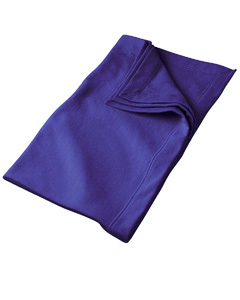 Purple DryBlend™ 9.3 oz. Fleece Stadium Blanket