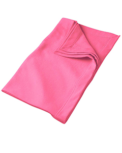 Safety Pink DryBlend™ 9.3 oz. Fleece Stadium Blanket