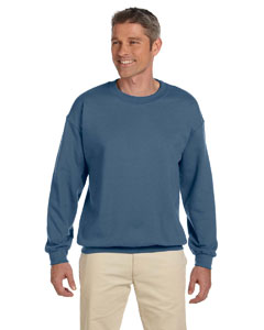 Indigo Blue Heavy Blend™ 8 oz., 50/50 Fleece Crew