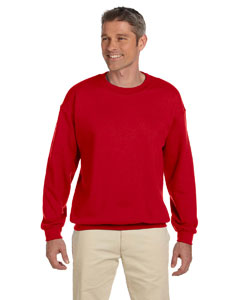 Cherry Red Heavy Blend™ 8 oz., 50/50 Fleece Crew